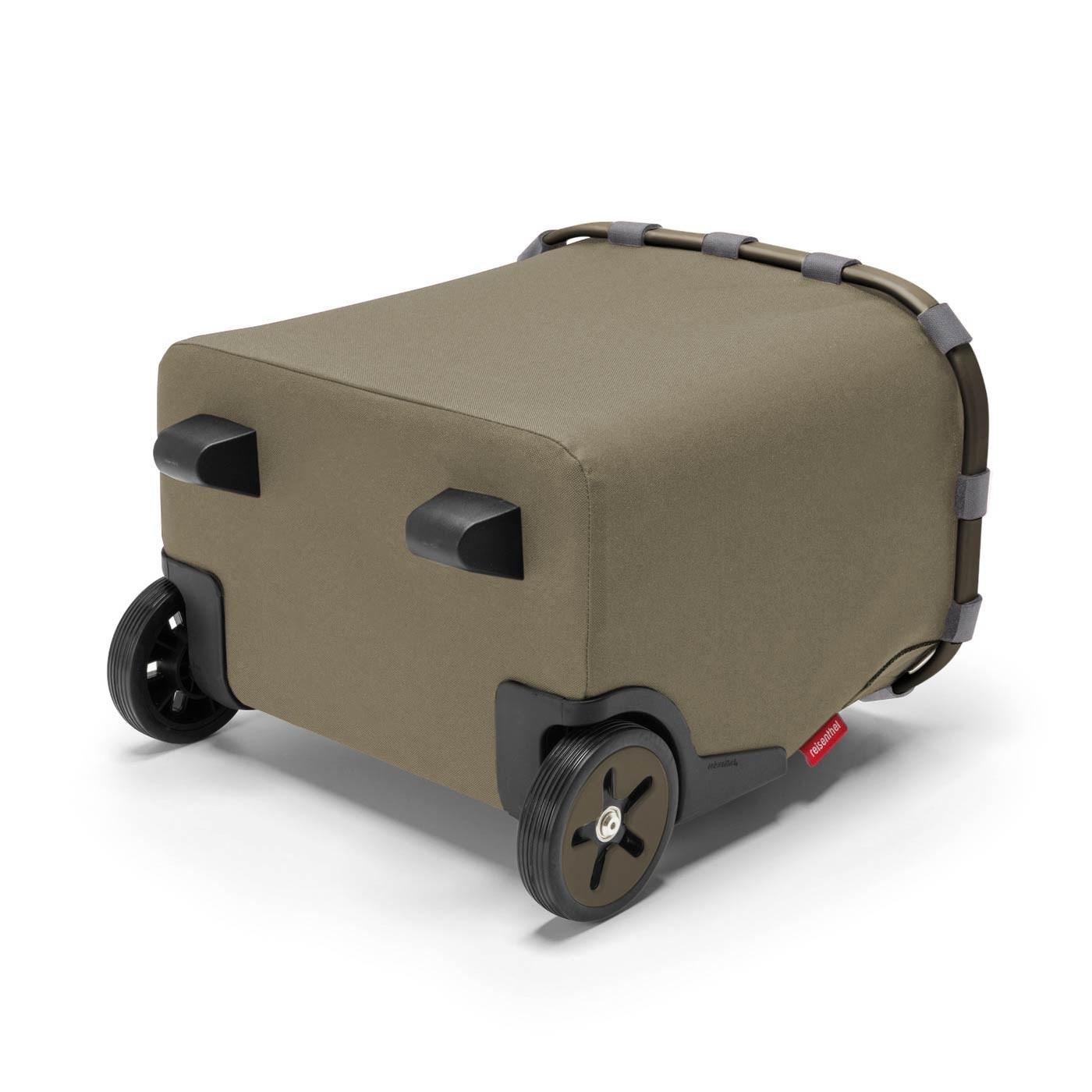 Taška na kolečkách Carrycruiser frame olive green_2