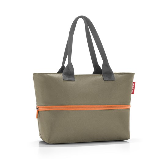 Chytrá taška přes rameno Shopper e1 olive green_0