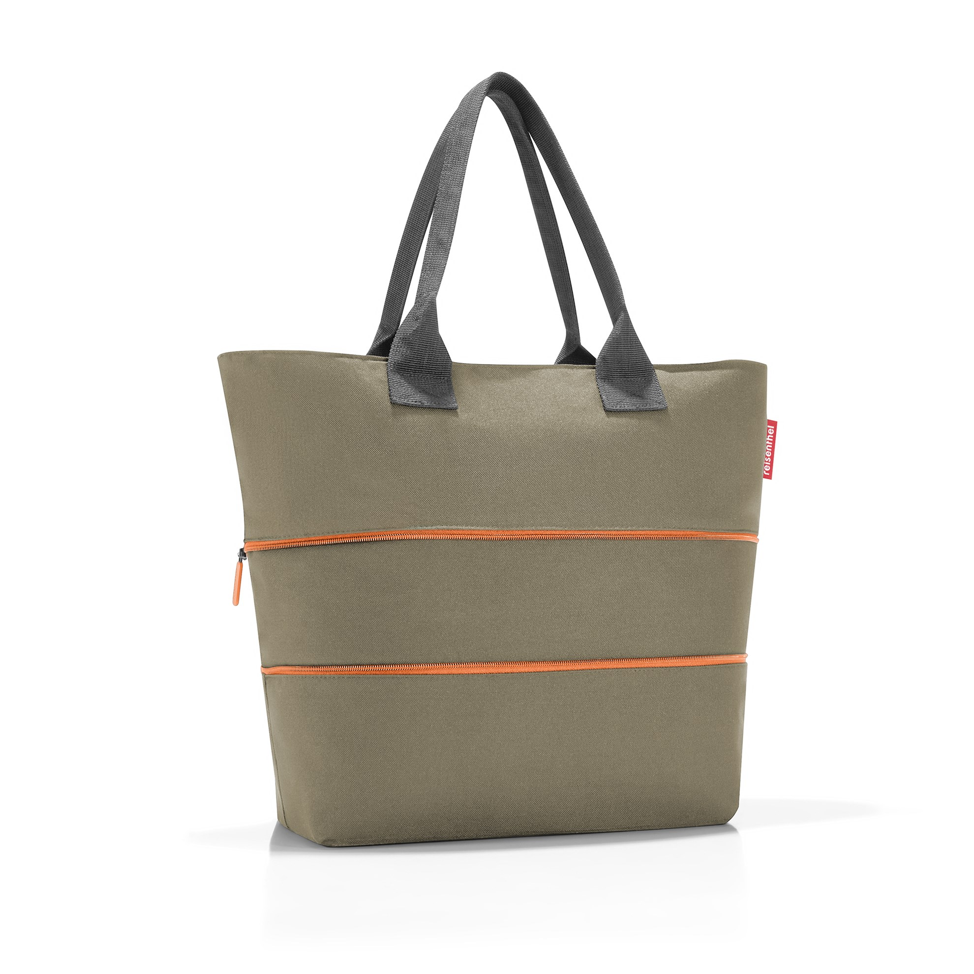Chytrá taška přes rameno Shopper e1 olive green_1