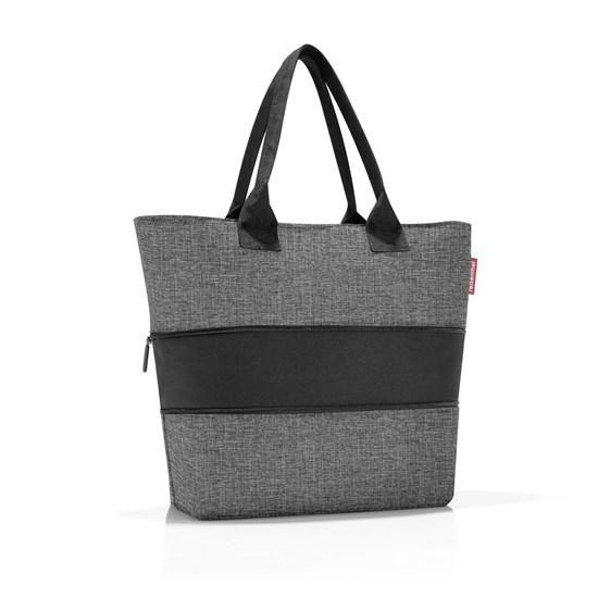 Chytrá taška přes rameno Shopper e1 twist silver_0