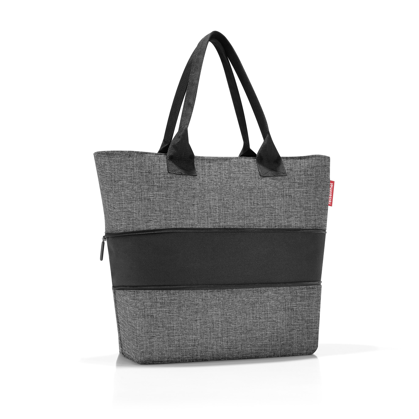 Chytrá taška přes rameno Shopper e1 twist silver_1