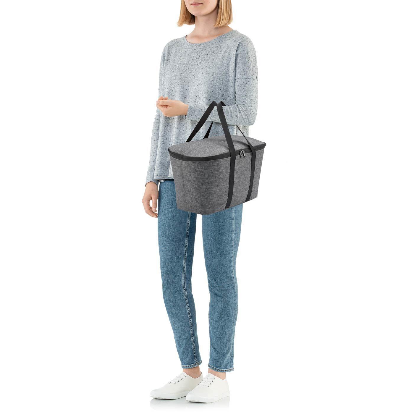 Termotaška Coolerbag twist silver_2