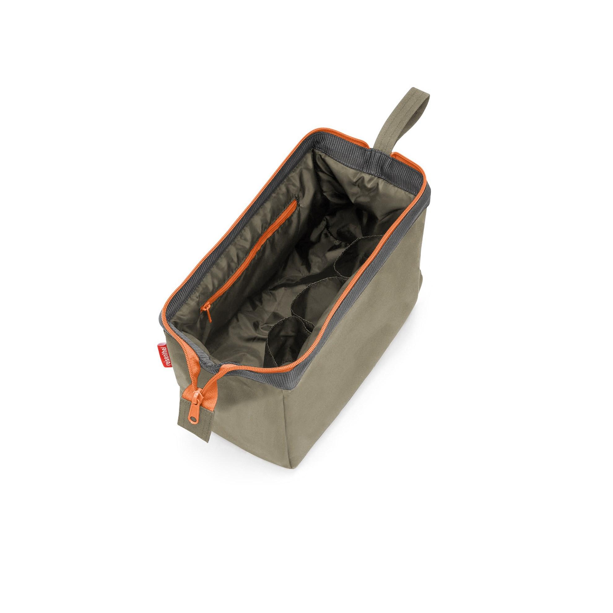Kosmetická taška Travelcosmetic olive green_2