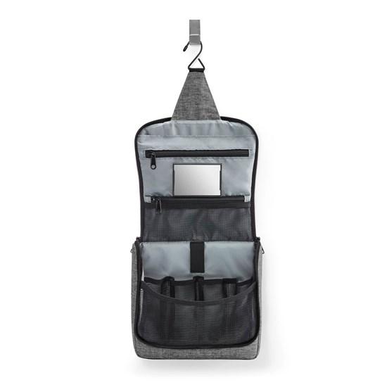 Kosmetická taška Toiletbag twist silver_0