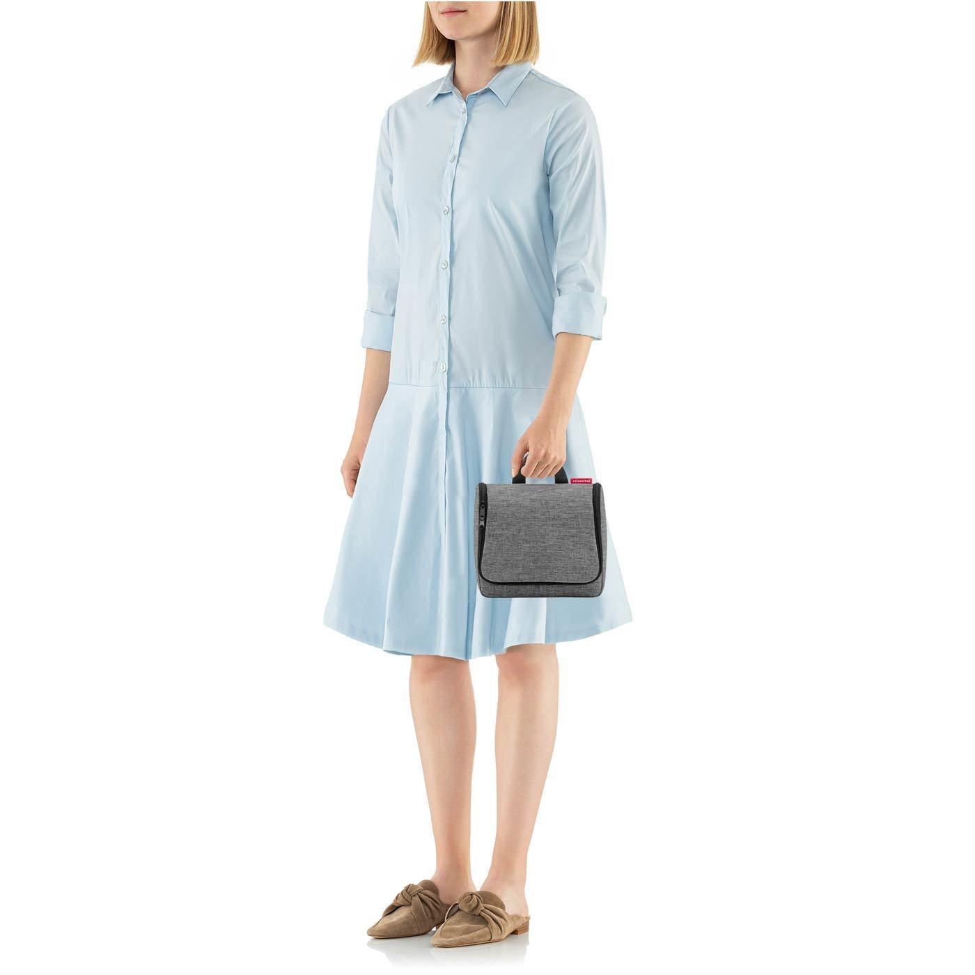 Kosmetická taška Toiletbag twist silver_1