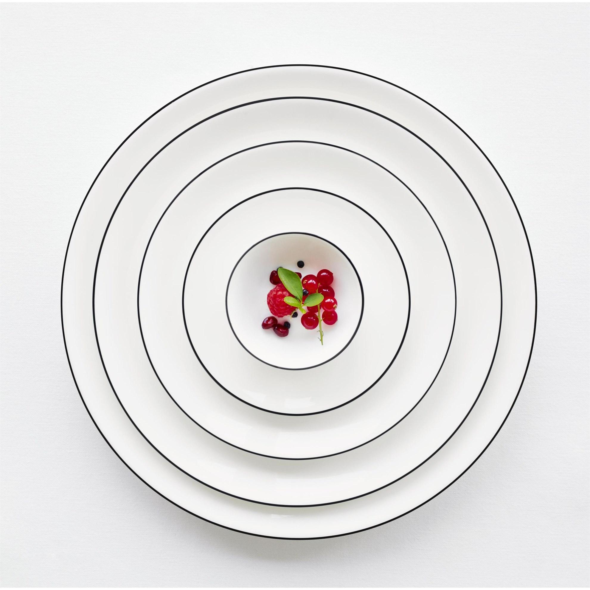 Talíř na polévku/pastu Á TABLE NOIRE 22_3