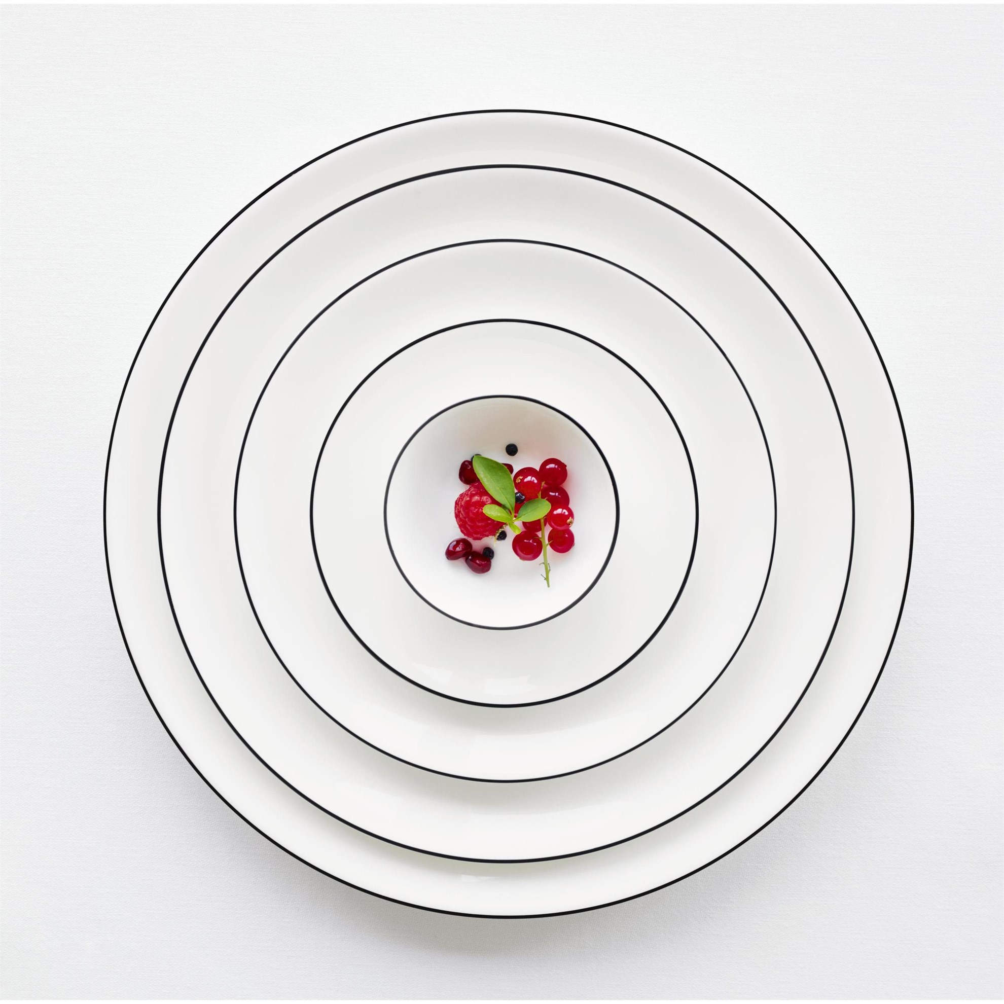 Talíř dezertní Á TABLE NOIRE 21 cm_3