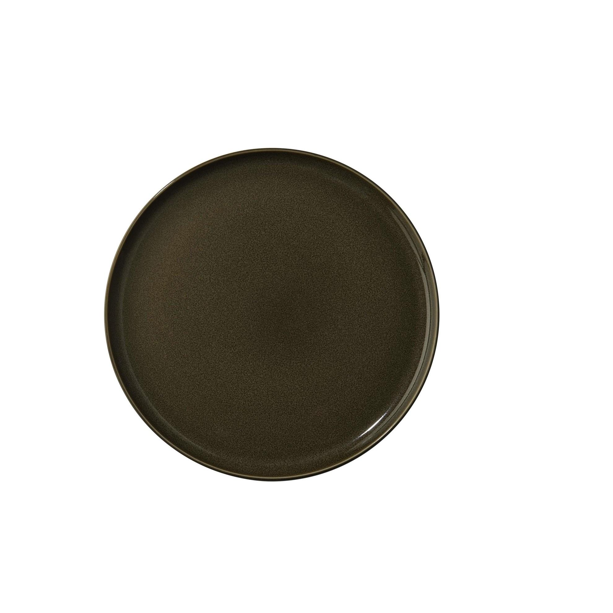 Mělký talíř ASA KOLIBRI 26,5 cm ořechový_0