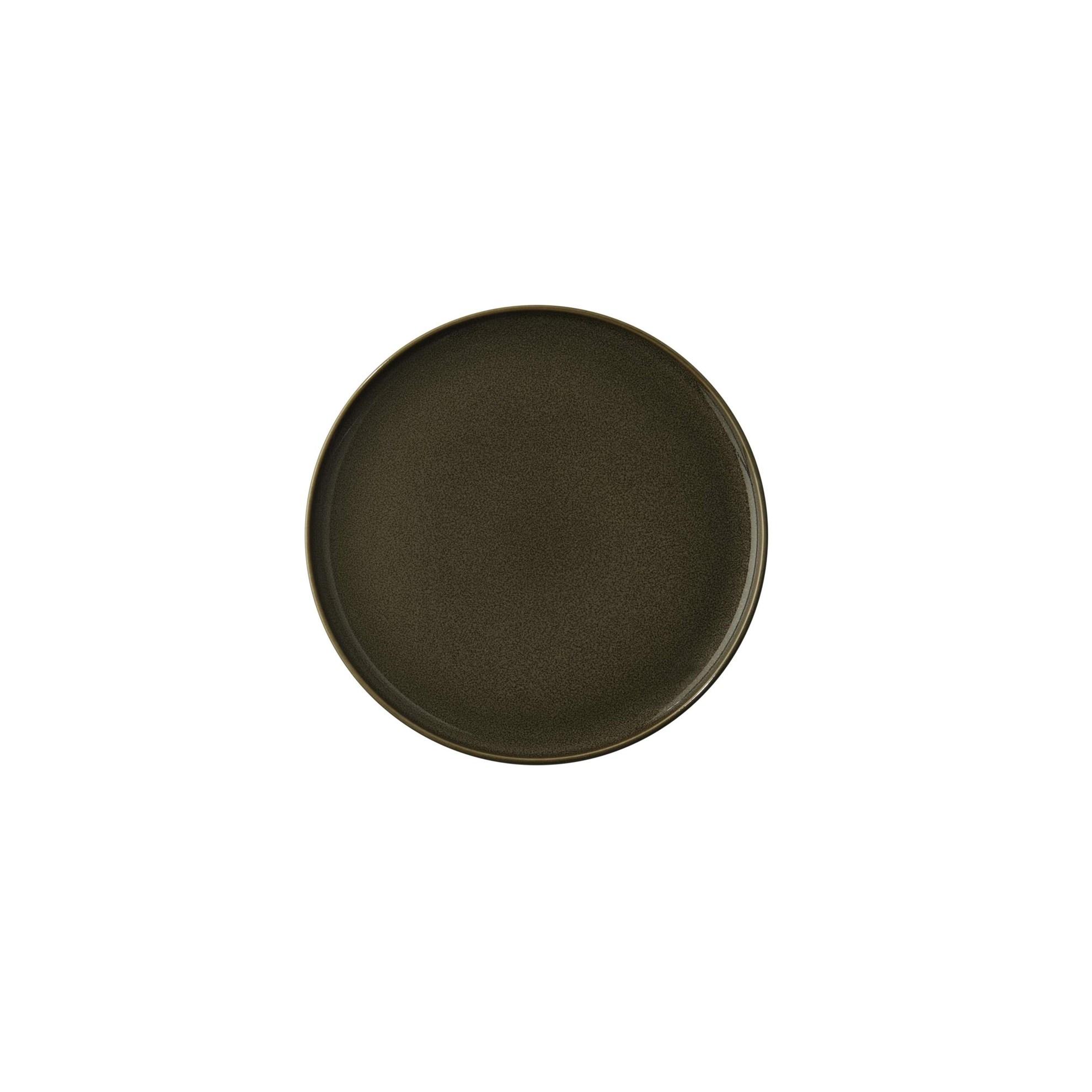 Dezertní talíř KOLIBRI 20 cm ořechový_0