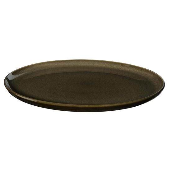 Dezertní talíř KOLIBRI 20 cm ořechový_2