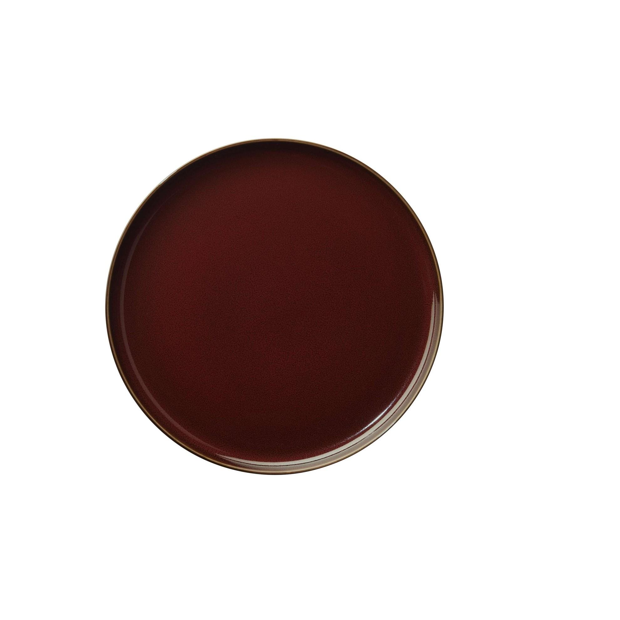 Mělký talíř ASA KOLIBRI 26,5 cm červený_0