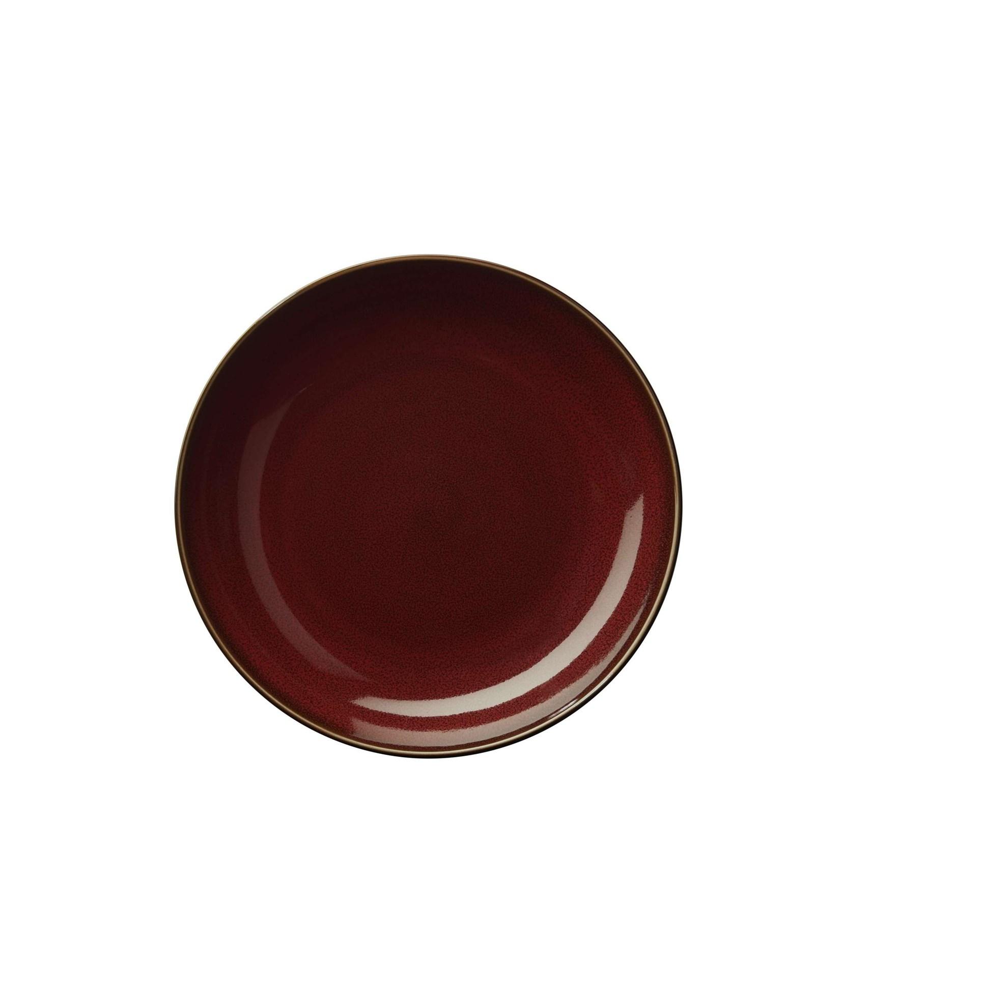 Talíř na předkrm ASA KOLIBRI 24 cm červený_0