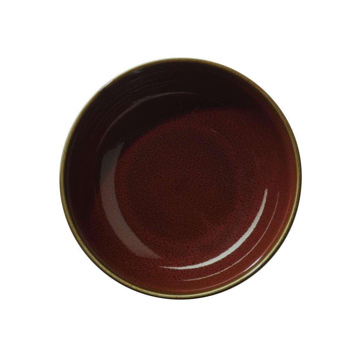 Miska KOLIBRI 13 cm červená_0