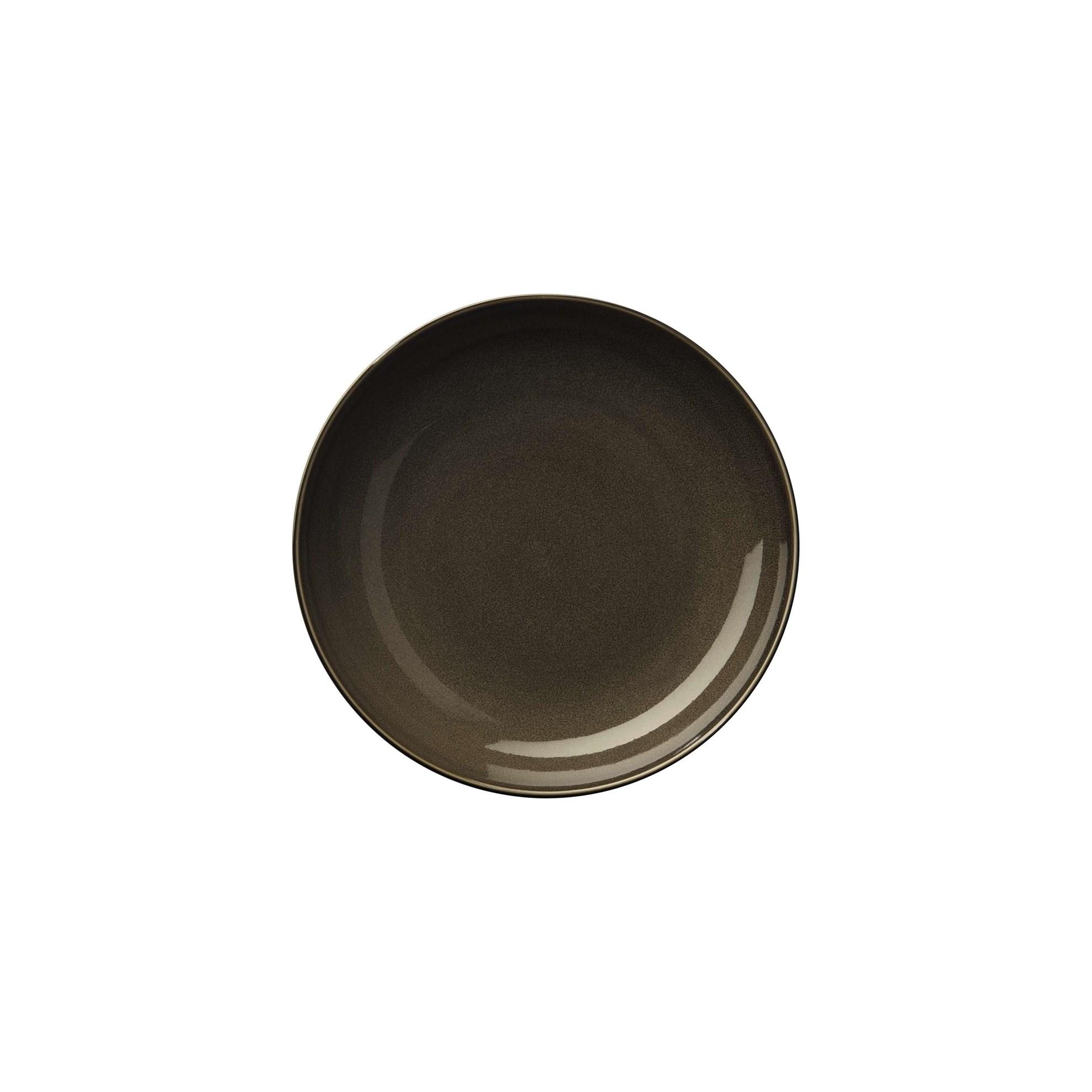 Talíř na polévku/pastu KOLIBRI ořechový_0