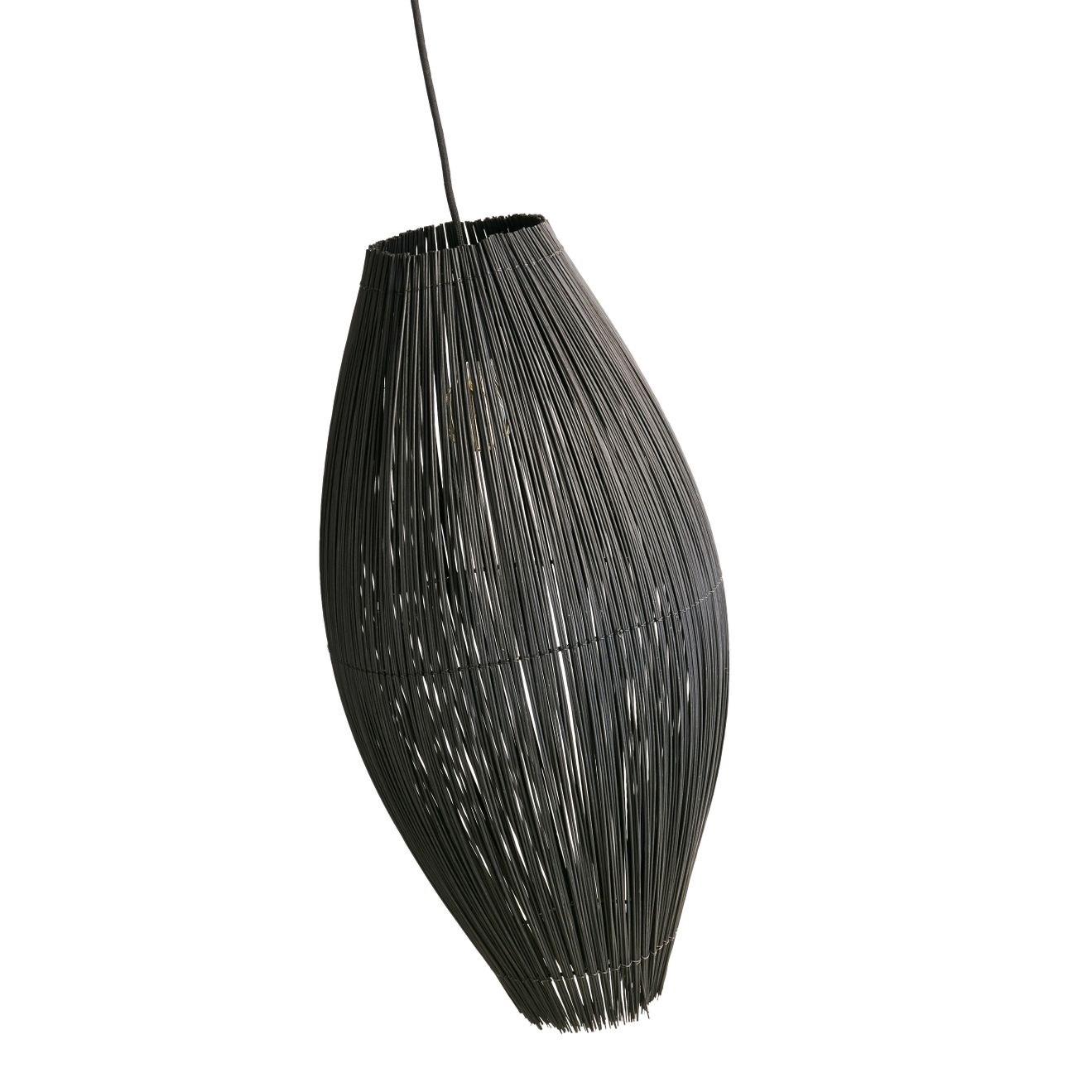 Lustr Fishtrap 66 cm černý_1