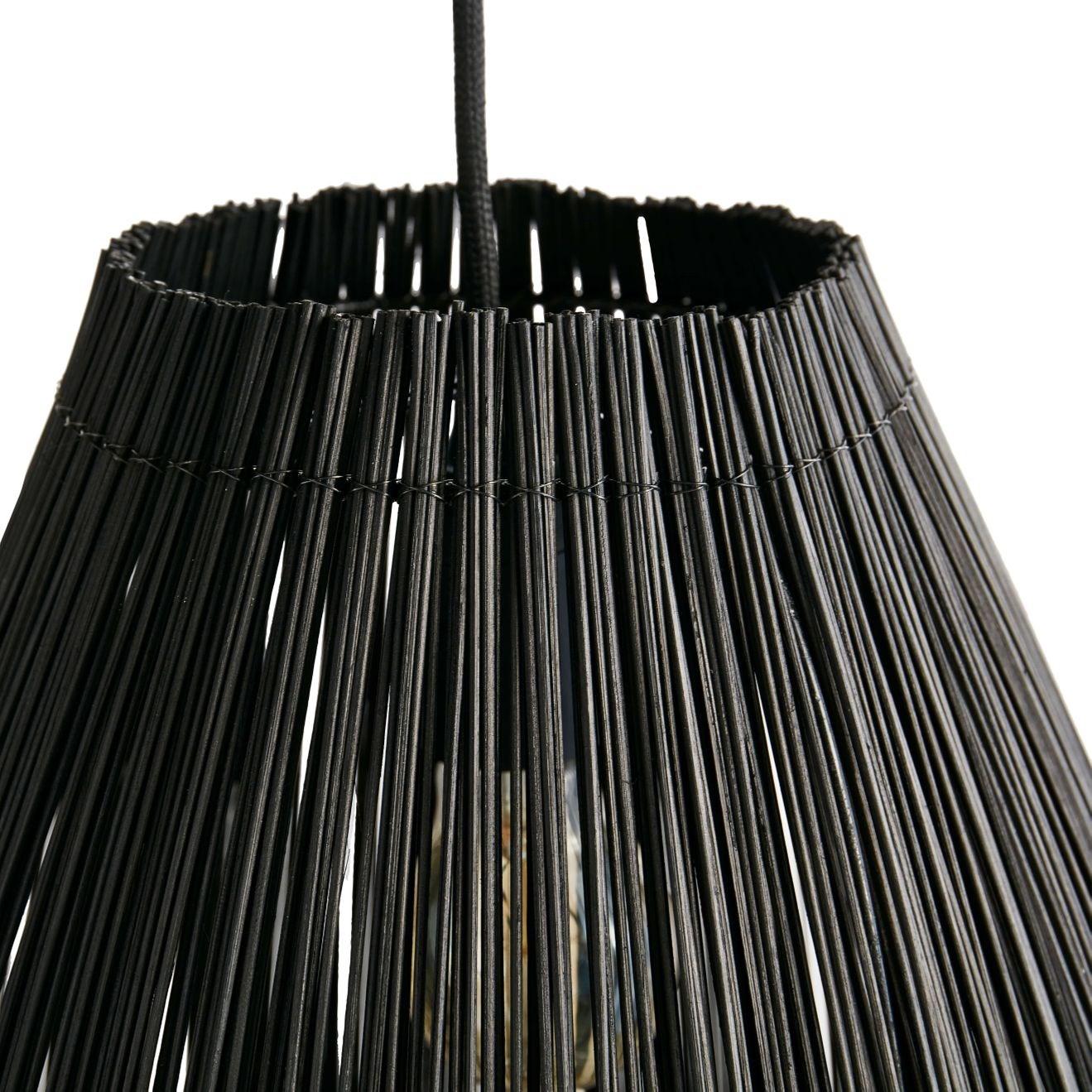 Lustr Fishtrap 66 cm černý_2