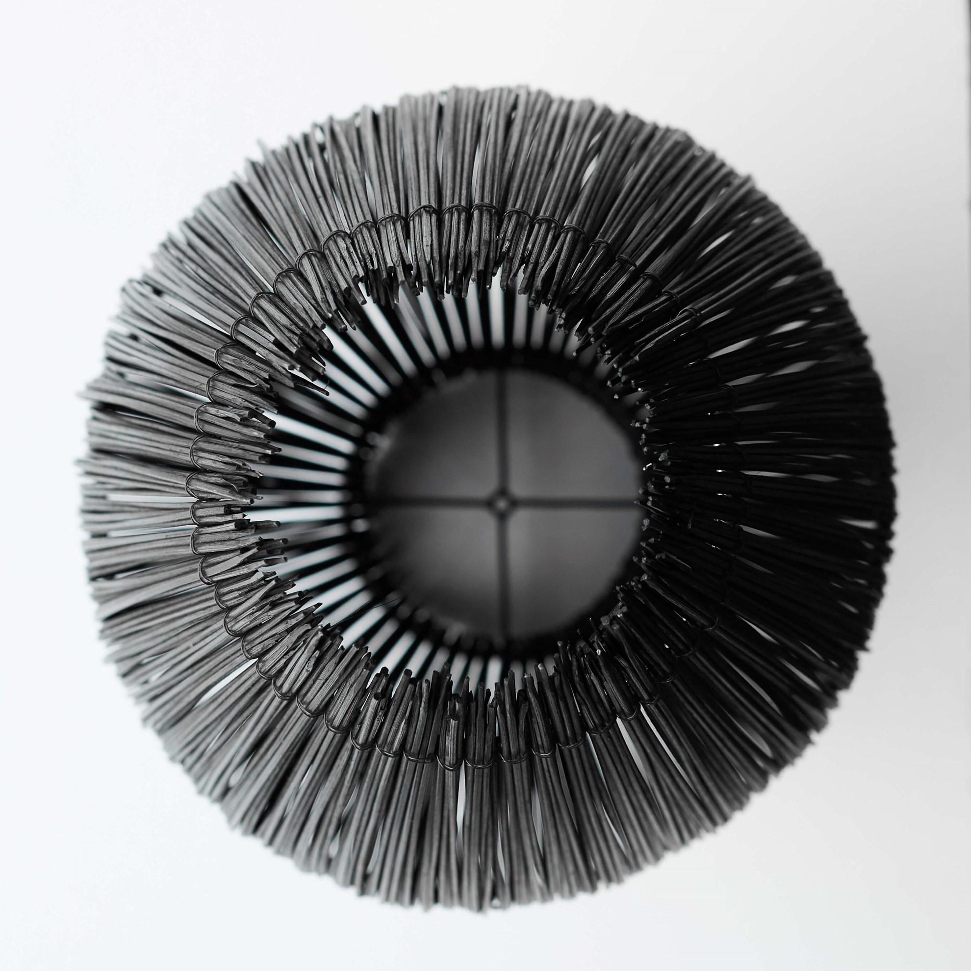 Lustr Fishtrap 66 cm černý_4