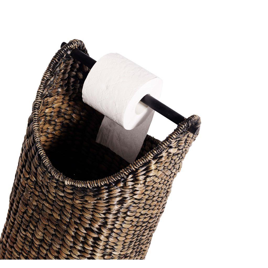 Koš na toal. papír černý 60 cm_1