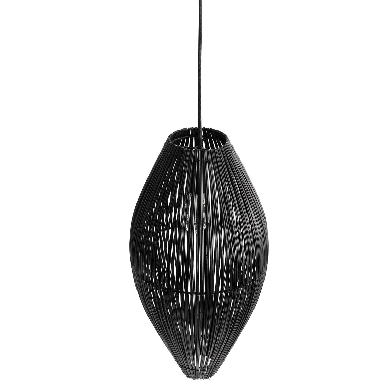 Lustr Fishtrap černý 45 cm_1