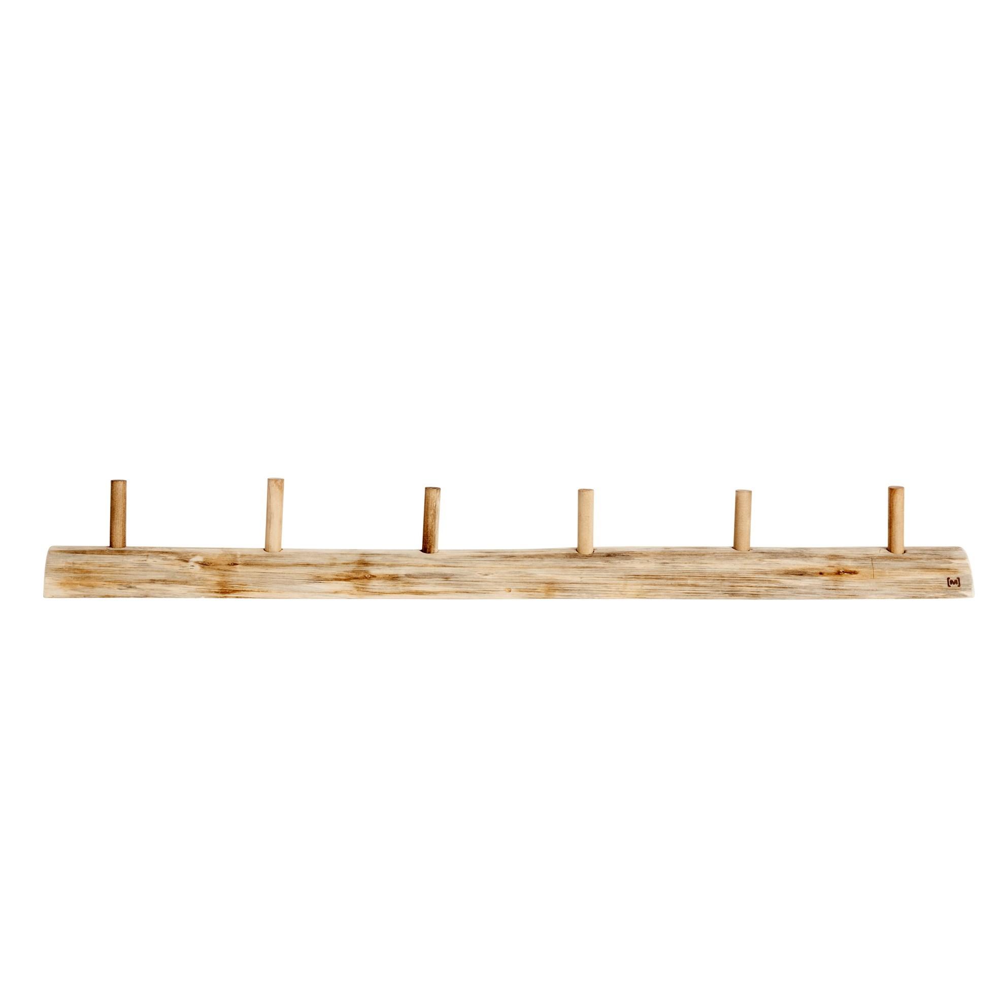 Věšák s 6-ti háčky dřevěný Alon L_4