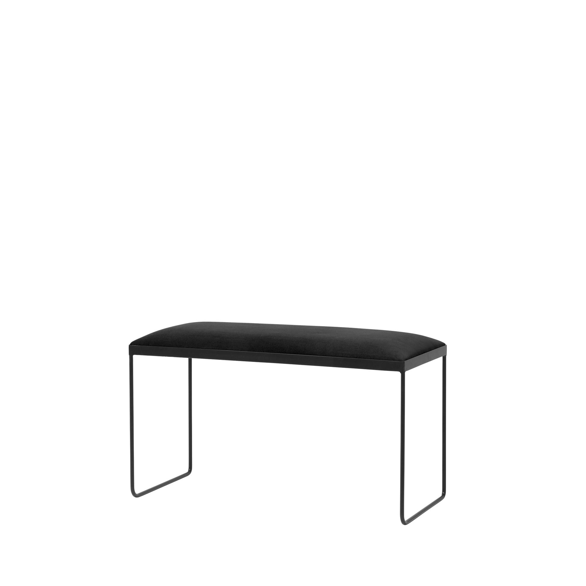 Lavice GORM - černá, 85 cm_0