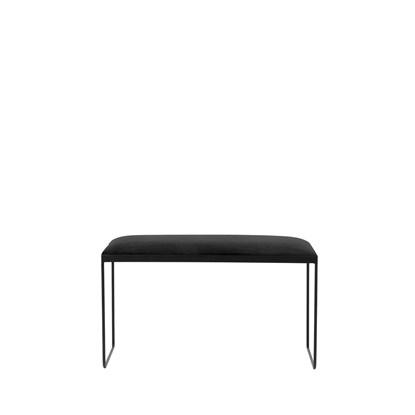 Lavice GORM - černá, 85 cm_1