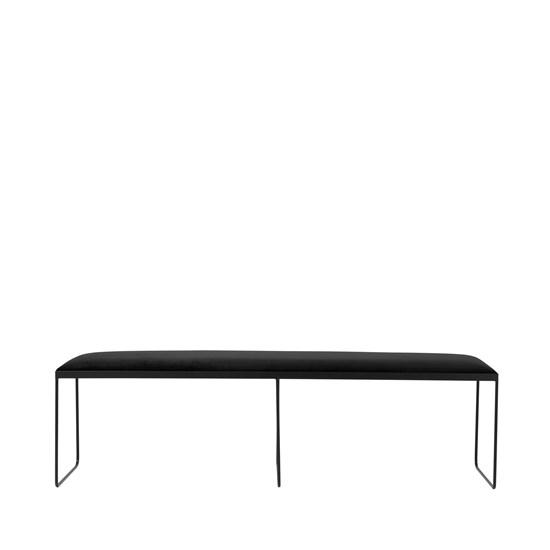 Lavice GORM - černá, 170 cm_1