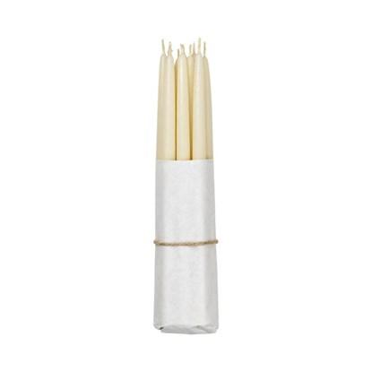 Máčené svíčky - ivory SET/10ks_0