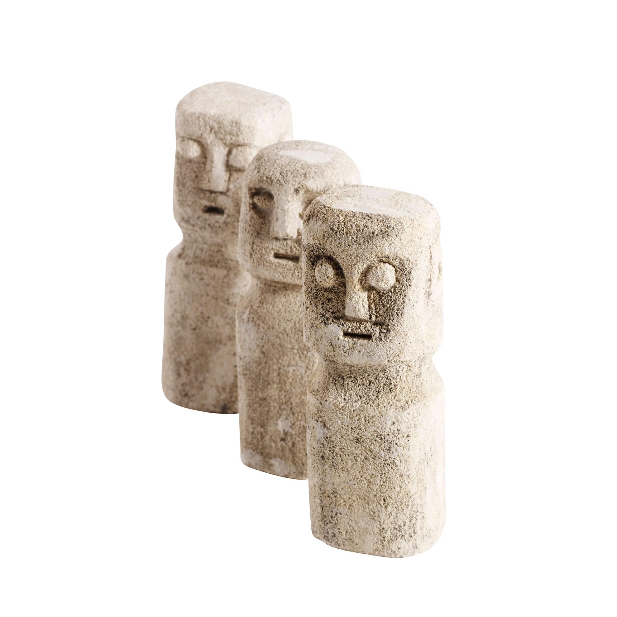 Kamenné sošky RAW SET/3ks_1