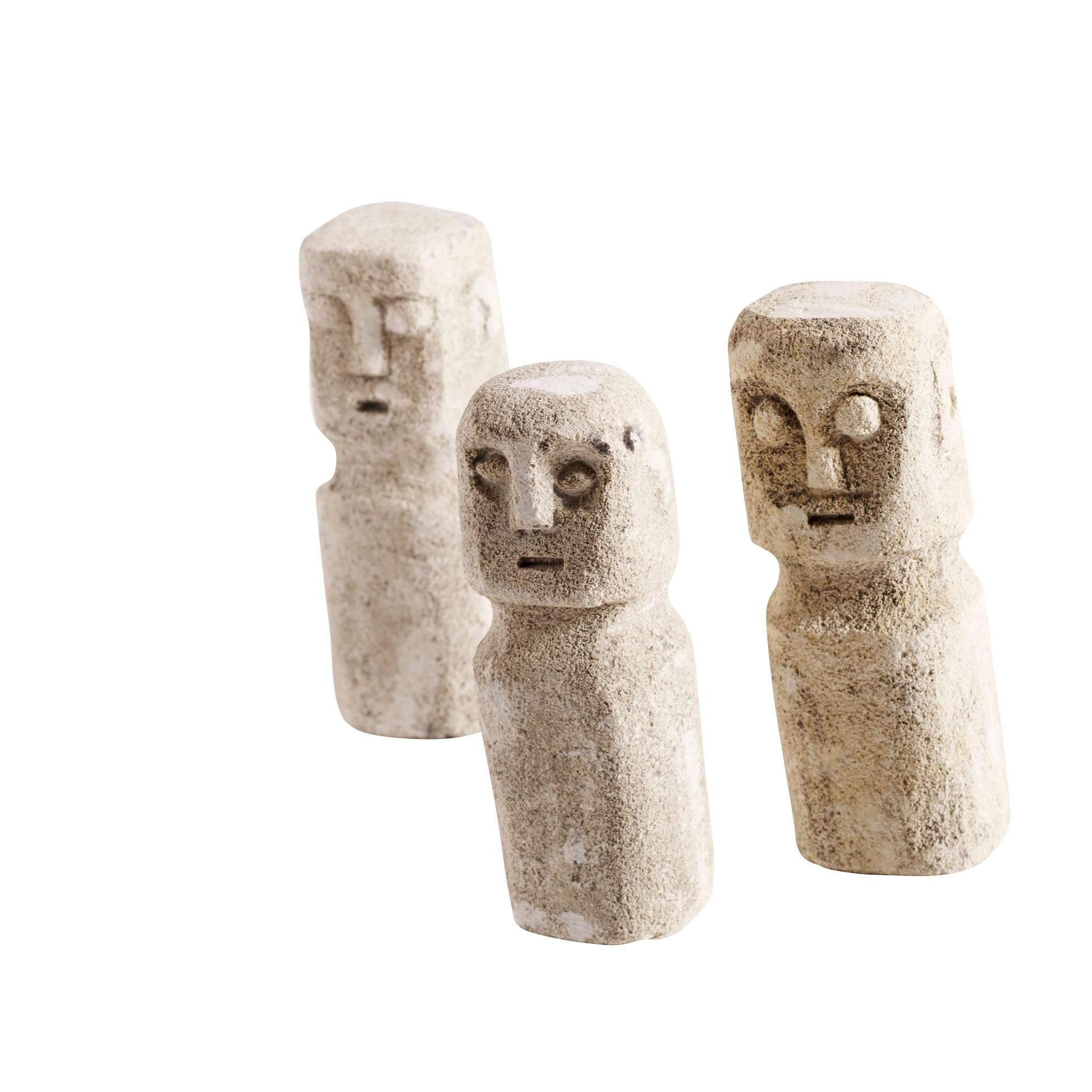 Kamenné sošky RAW SET/3ks_2