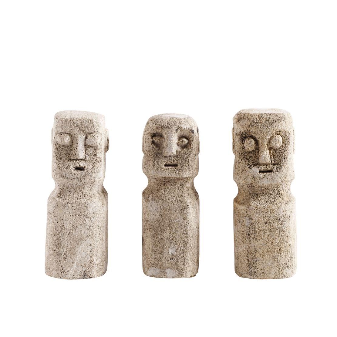 Kamenné sošky RAW SET/3ks_4