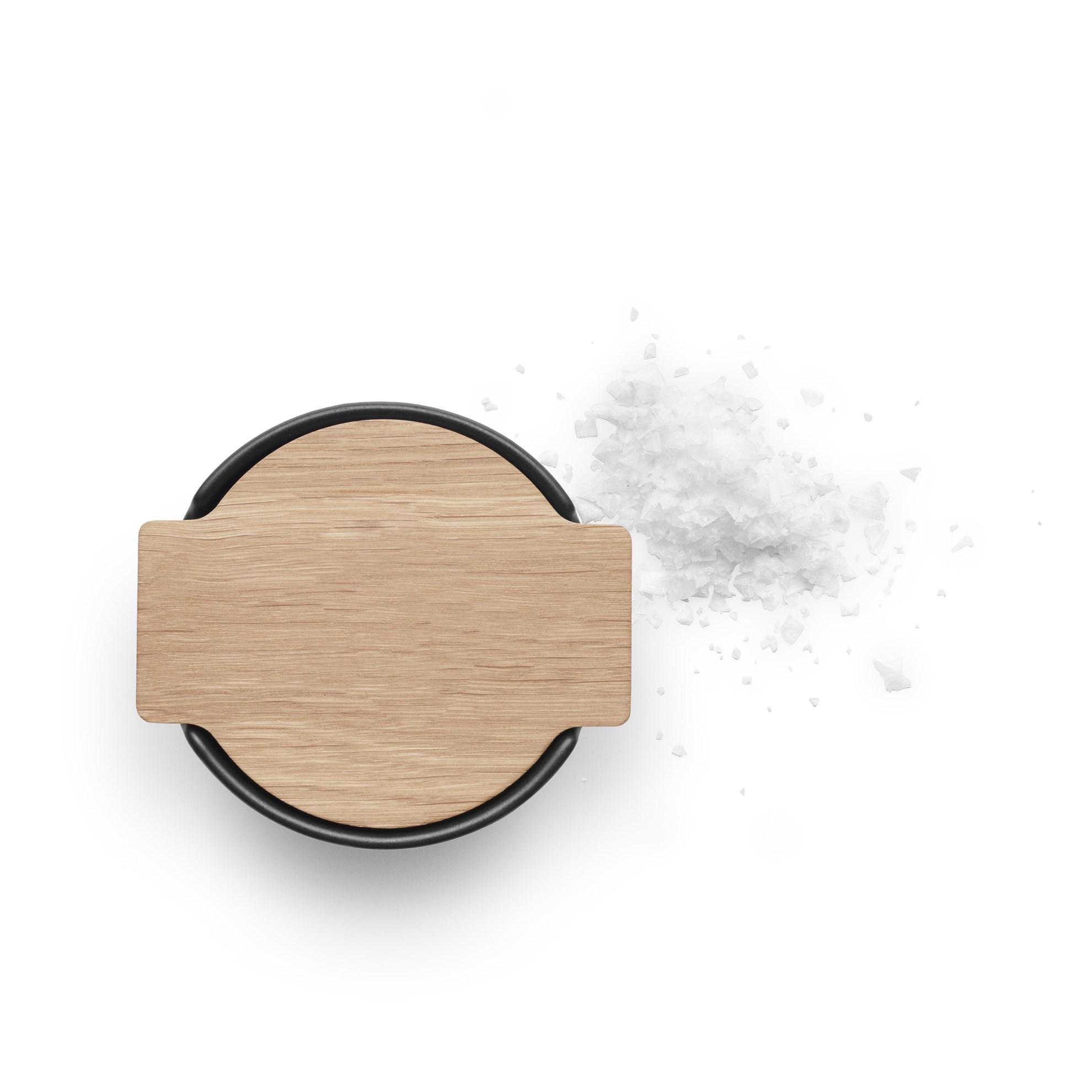 Dóza na sůl s víkem TOOLBOX černá_2