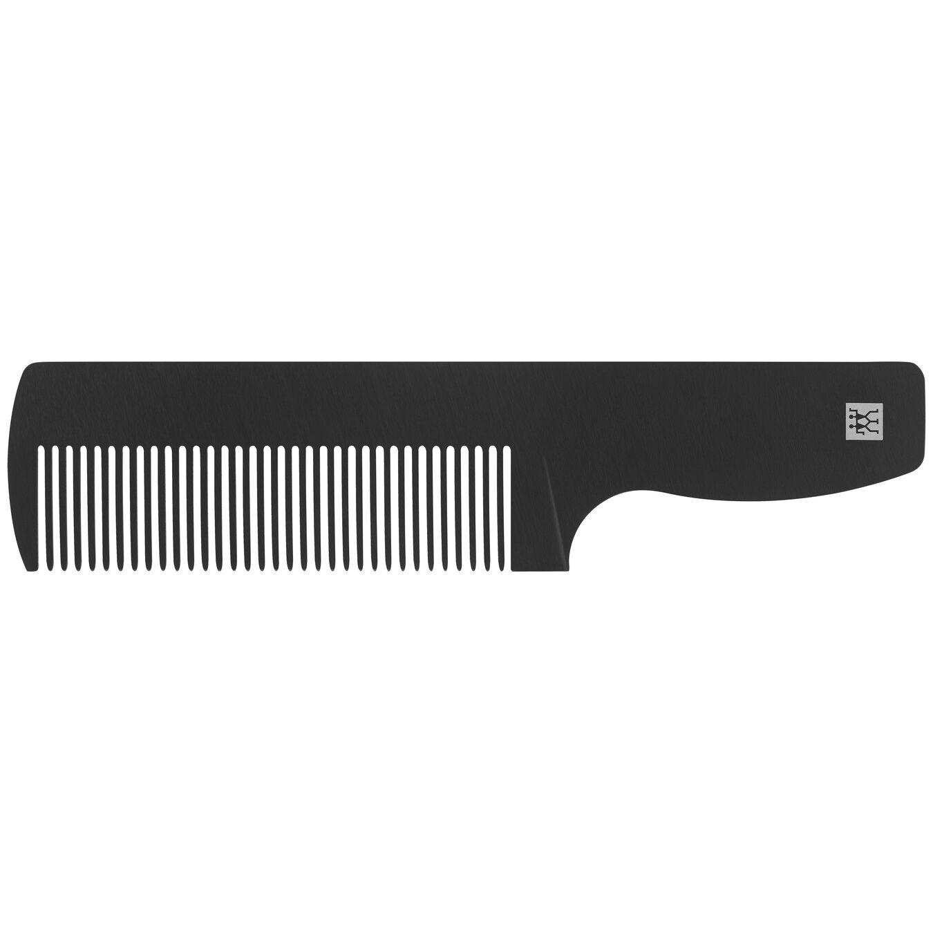 Kožené pouzdro SET nůžky + hřeben na úpravu vousů_0