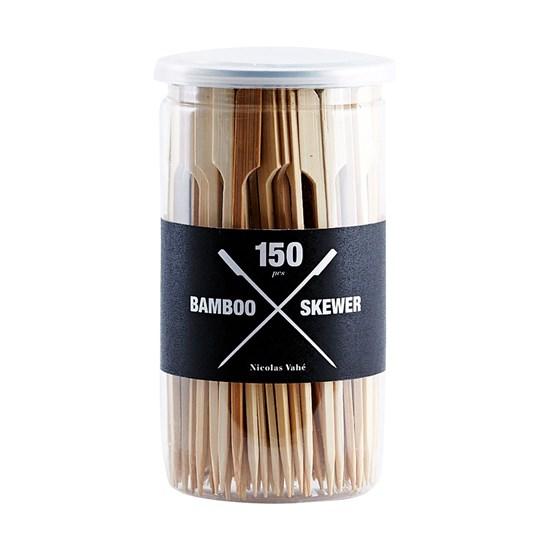 Bambus. špejle na špíz / hamburger 150 ks_0