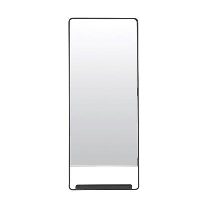 Zrcadlo s policí CHIC černé V.110 cm_0