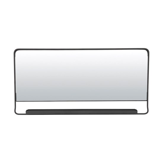 Zrcadlo s policí CHIC černé V.80 cm_0