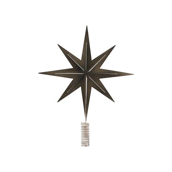 Špice na strom /hvězda STRETCH kovová_0