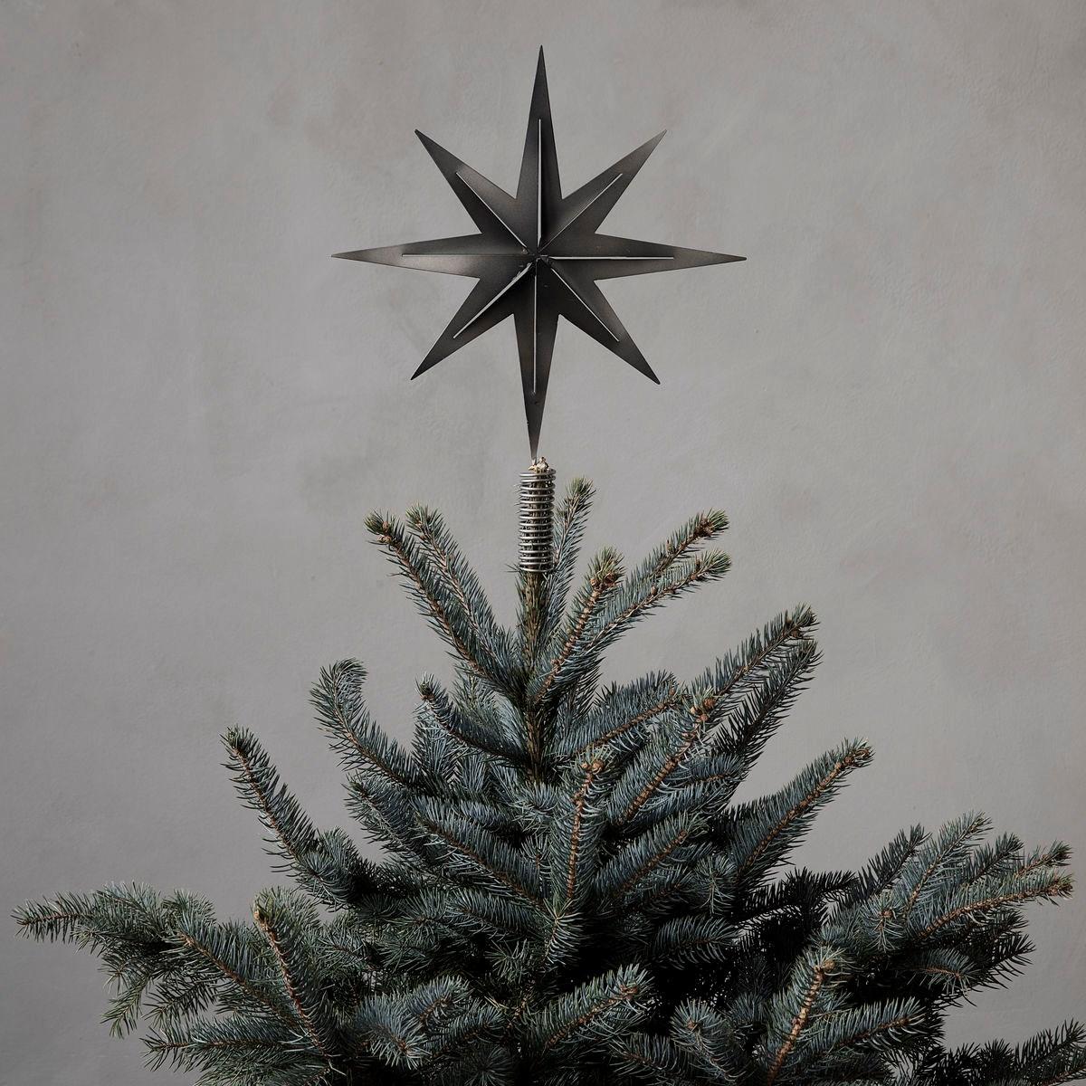 Špice na strom /hvězda STRETCH kovová_1