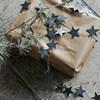 Kovová girlanda hvězdy STARS 250 cm černá_1