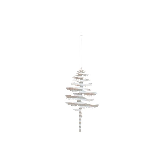 Dekorace plech. strom TREE stříbrný_0