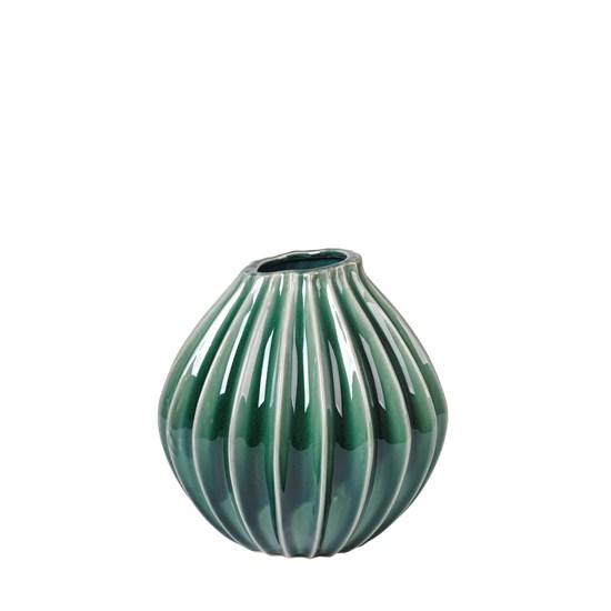 Váza WIDE 25 cm zelenomodrá_0