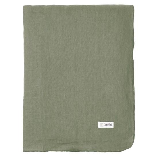 Ubrus GRACIE 160x300 cm zelenošedý_0