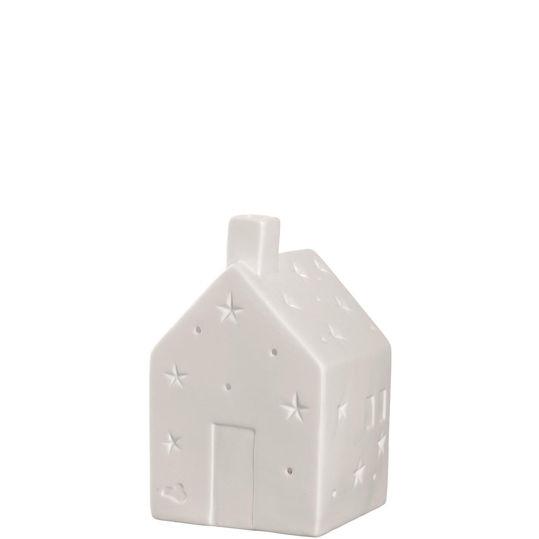 Porcelánový domeček s LED osvětlením_1
