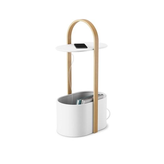 Odkládací stolek BELLWOOD bílá/přírodní_0
