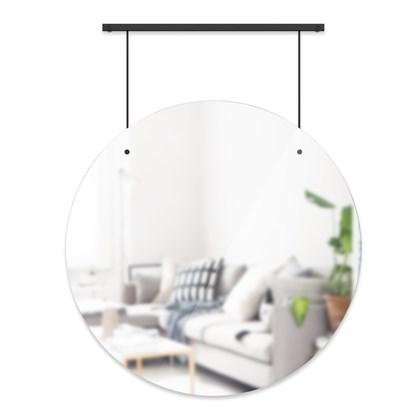 Zrcadlo EXHIBIT 86.5 cm s černým zavěšením_0