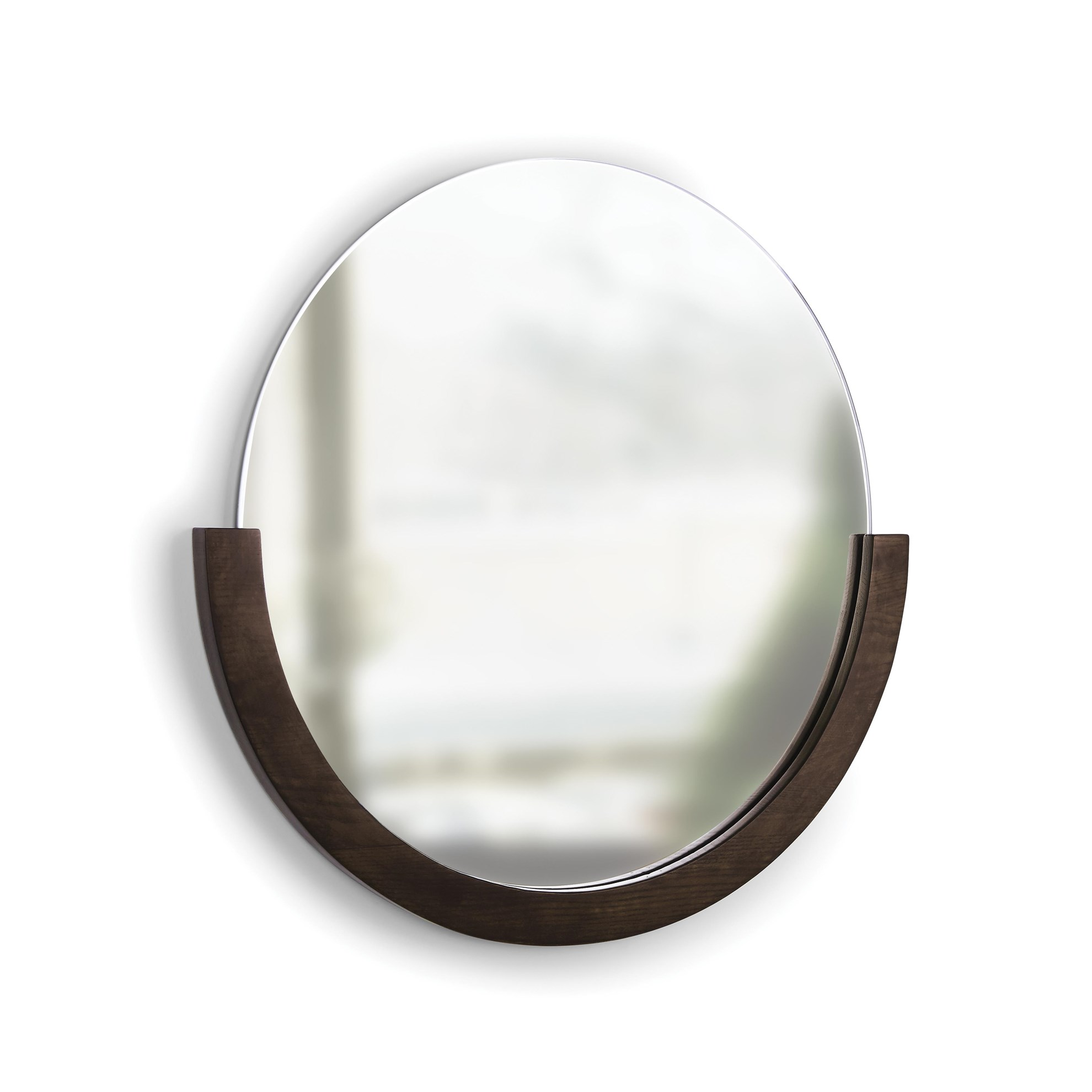 Zrcadlo MIRA s dřevěným rámem_0