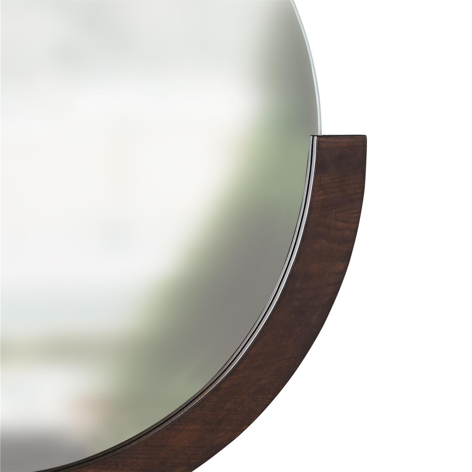Zrcadlo MIRA s dřevěným rámem_2