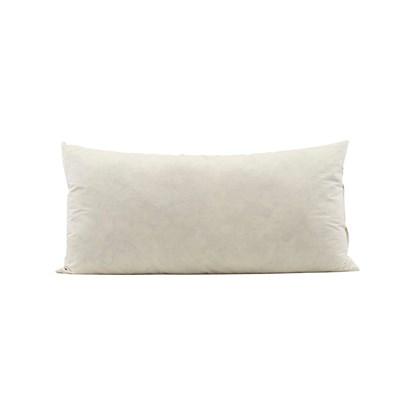 Výplň do polštáře z kachního peří 80x40 cm bílá_0
