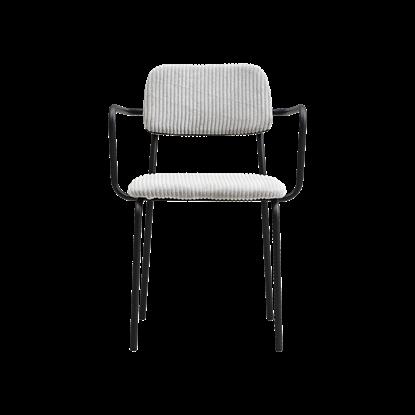 Jídelní židle CLASSICO sv. šedá_0
