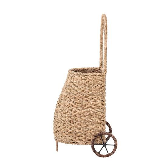 Ratanový vozík na kolečkách V. 69 cm_5